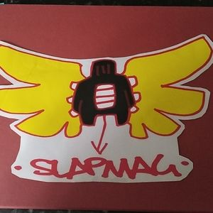 Slap Magazine large Decal